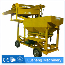 30Tons Per Hour Portable Mobile Diamond/Gold Washing Plant