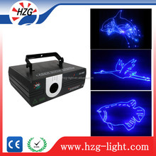 2W Professional Stage Blue Programmable Projector Laser Light / Animation Laser Light