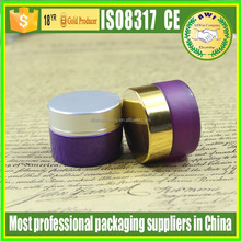 25ml Glass Body Material glass jar cosmetic packaging amber glass jar for face cream