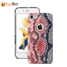 Ultra Thin Snake Skin Pattern PU Leather Mobile Cover for iPhone 5/5S/5C 6 6S 6SPlus 7 7Plus Leather Case
