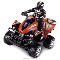 RC AVT Car 1:10 Scale 4 Wheel RC ATV Cross-Country Motorcycle for boys games