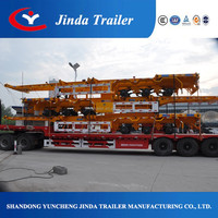 Container Trailer semi tractor trailer for sale