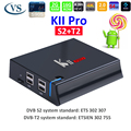 4k satellite android 5.1 hybrid set-top box S905 android ott box internet dvb-s2 dvb-t2 hybrid tv box