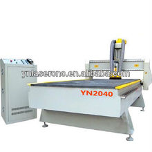 YN2040 cnc router with Japanese Yaskawa servoo motor and Italy HSD air cooling spindle