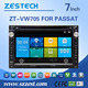 car dvd player for vw passat b5 multimedia player with gps radio phonebook bluetooth tv 3g