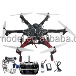 Drone Profesional RC Assembled F550 6-Aix RTF Full Kit Drone Mini With Controller GPS Compass & Gimbal