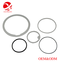 custom 2-8 inch silicone rubber sealing rings soft silicone o ring