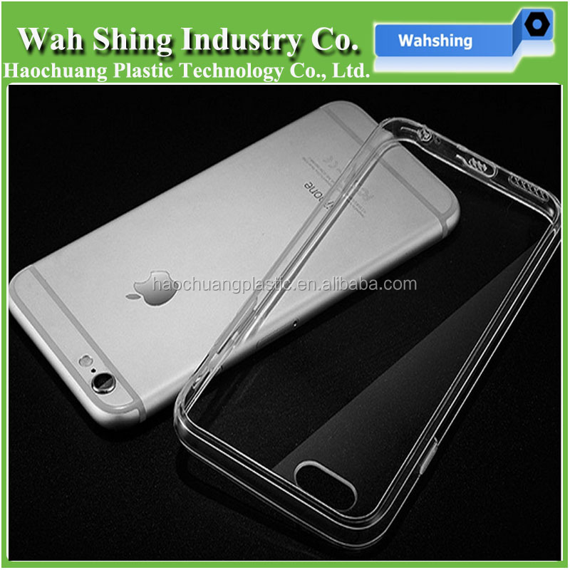 TPU PC Shockproof Cover Transparent Clear Case For iPhone 7 Plus
