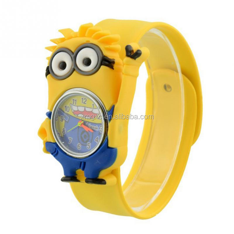 3D Eye Despicable Me minion Cartoon watch kid watch