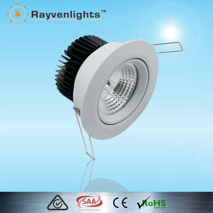 CE approved office lighting 5w 7w cree led dimmable downlight