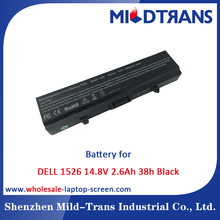 Mildtrans Factory price Replacement Laptop Battery for DELL 1526 14.8V 2.6Ah 38h Black
