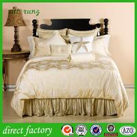 printed Chinese bed sheet hand work Continental