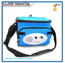 Radio Cooler Bag Personal Lunch Cooler