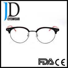 2016 New Design Half Glasses Acetate Frame