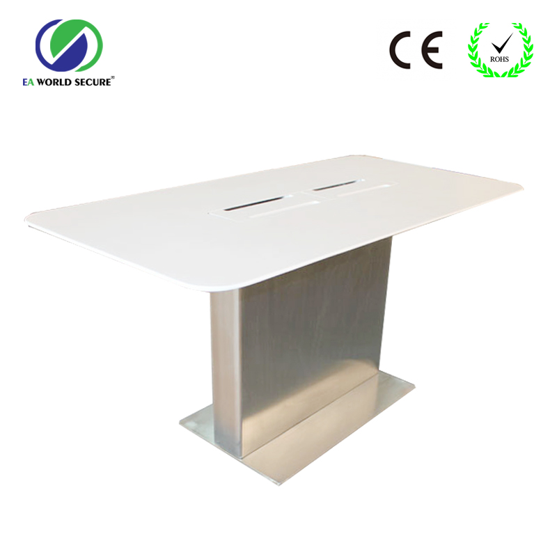 OEM display table for mobile phone retail shop,Samsung mobile phone display tables