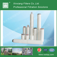 RF-HL filter membrane pleated pp water cartridge filter