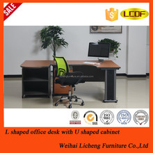 Modern custom made OEM good quality veneer executive desk manager table office furniture