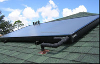 Rooftop Flat Plate Solar Collector /Selective Coating for Solar Collector