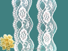 new arrival french guipure lace trim/ fashion african lace trim for wedding dress