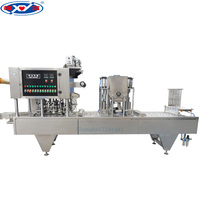 Automatic Cup Pudding Filling Sealing Machine