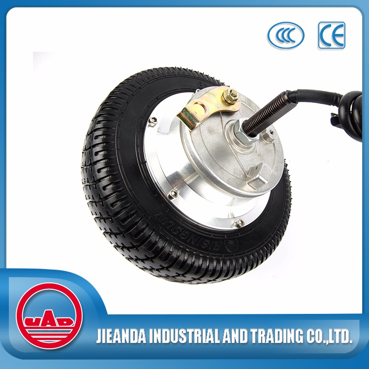 8 inch high rpm 36v variable speed dc electric motor wheel sale