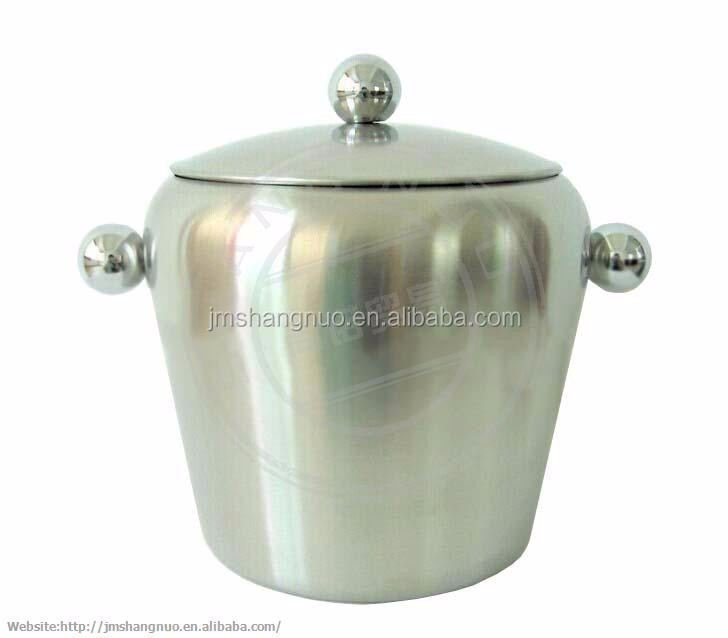 2.0L metal ice bucket for beer with Handle