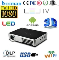 full hd mini projector low price led proyector android4.2.2 wifi led projector