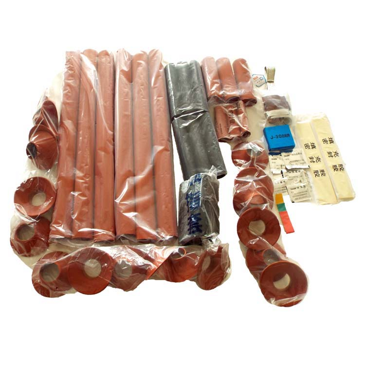 Heat Shrinkable Thermal Shrinkable Terminal Straight Through cable Joint Kit Termination Kits