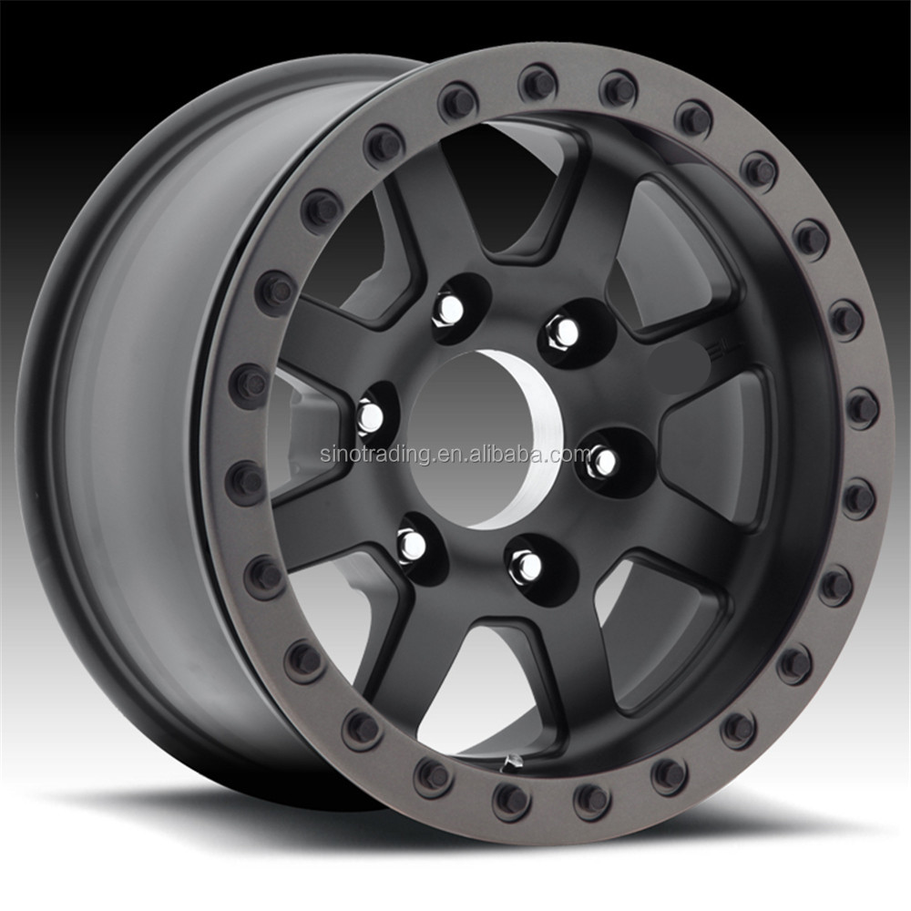 Heavy and strong off-road vehicle alloy wheel rim