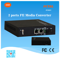 Hot sale 100M Media Converter with 2ports