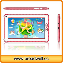 High Quality Rockchip 3026 Dual Core Cortex A9 1.0GHz Children mini pad 7 inch android tablet for kids