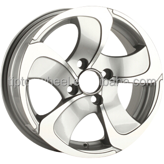 Germany after market alloy wheel for Alpina car beauty silver machine face alloy rims 14 15 inch