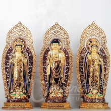 Indian style antique fengshui crafts fiberglass buddha sculpture indonesian statues