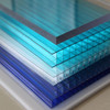 polycarbonate hollow plastic board twin wall pc sheets with uv protection