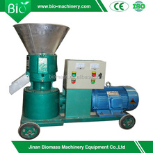 Mobile Small Sawdust pellet mill wood pellet machine/animal feed pellet mill/fertilizer pellet making granulator