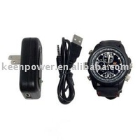 640x480 Waterproof Sport Watch Digital Video Recorder with Motion Activated Hidden Camera