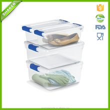 Hot Plastic Storage Box With Lid for Clothes,shoes Sundries