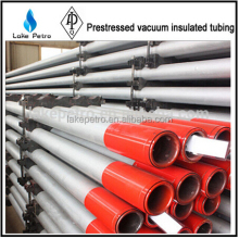 Geothermal wells L80 114.3*76 VIT Prestressed vacuum insulated tubing /casing
