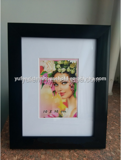 cheap black photo picture frame funeral photo frame