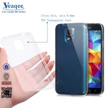 Veaqee transparent clear TPU case for samsung galaxy s5