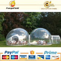 Clear inflatable bubble tent / bubble house / bubble tree lodge with factory price for sale and rent