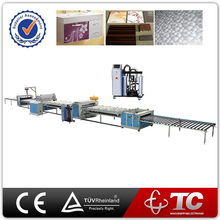 Flooring high gloss Hot Melt Adhesive film laminating machine