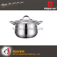 Professional Kitchen Stainless Steel Induction Compatible Cookware Casserole