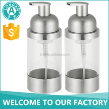 Jiangmen hotel bath oil accessory acrylic liquid pump dispenser plastic soap bottle