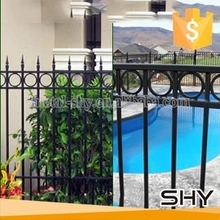 2015 Hot Products Artistic Wrought Iron Fence for Garden