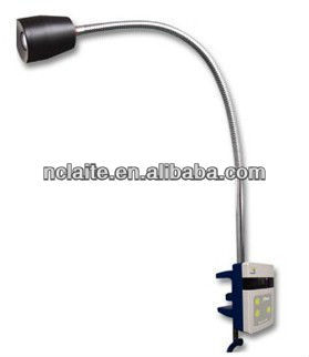 Promotion ! Clip on bed table LED surgical examination lamp for gynaecology
