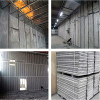 Hot!! High Strength Expandable Polystyrene EPS Sandwich Wall Panel for Apartment Building Panel