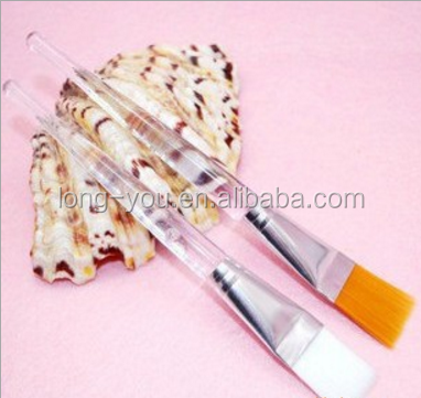 Single facial crystal mask brush personalized cosmetic tools wholesale