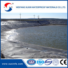 hdpe geomembrane liner for pond or landfill