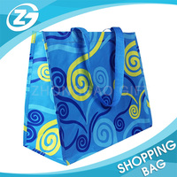 Shop/store Display Design Gloss/Matt Laminated PP Woven Eco Marketing Hypermarket Shopping Bag